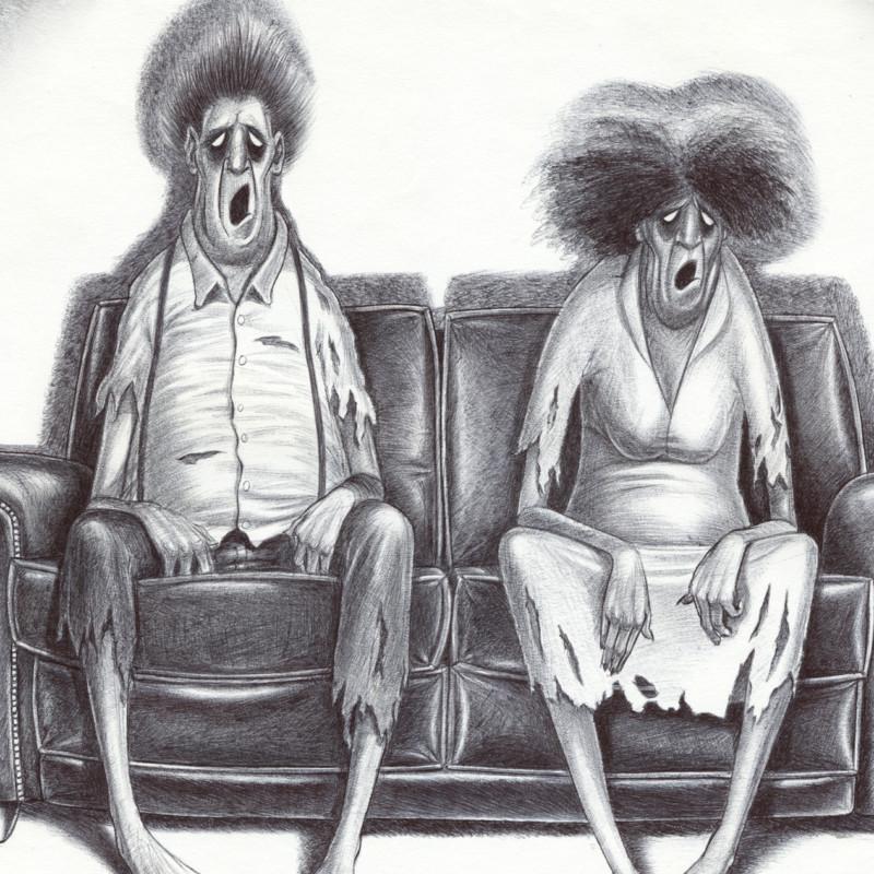 Iwan Kempe - Zombie tv